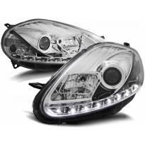 Комплект тунинг фарове с LED светлини за Fiat GRANDE PUNTO 09.2005-2008 , ляв и десен