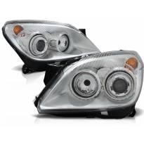 Комплект тунинг фарове за OPEL ASTRA H 03.2004-2009 3.5D , ляв и десен