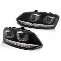 Комплект тунинг фарове за VW POLO 6R 2009-03.2014 , ляв и десен