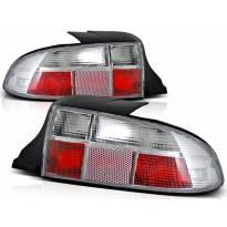 Комплект тунинг стопове за BMW Z3 01.1996-1999 кабрио с бяла основа , ляв и десен