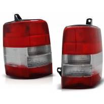 Комплект тунинг стопове за Jeep Grand Cherokee ZJ 1993-1999 червено/бели , ляв и десен