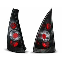Комплект тунинг стопове за Citroen C3 03.2002-08.2005 с черна основа , ляв и десен