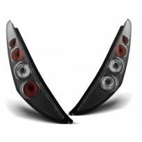 Комплект тунинг стопове за Fiat PUNTO 2 10.1999-06.2003 3 врати с черна основа , ляв и десен