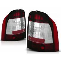 Комплект тунинг стопове за Ford MONDEO 01.1993-08.2000 комби с червена и бяла основа , ляв и десен