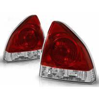Комплект тунинг стопове за Honda PRELUDE 02.1992-01.1997 с червена и бяла основа , ляв и десен