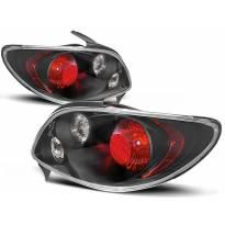 Комплект тунинг стопове за Peugeot 206 след 10.1998 година 3/5 врати с черна основа , ляв и десен
