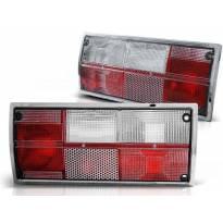 Комплект тунинг стопове за Volkswagen T3 1979-1992 с червена и бяла основа , ляв и десен