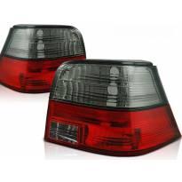 Комплект тунинг стопове за Volkswagen GOLF 4 09.1997-09.2003 хечбек с червена и опушена основа , ляв и десен