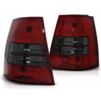 Комплект тунинг стопове за Volkswagen GOLF 4 / BORA 1999-2006 комби с червена и опушена основа , ляв и десен