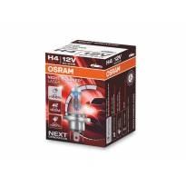 Халогенна крушка Osram H4 Night Breaker Laser +150% 12V, 60/55W, P14.5s, 1650/1000lm, 1 брой в кутия