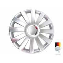"Декоративни тасове PETEX 16"" Spyder pro silver, 4 броя"