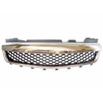 Хром/черна решетка без емблема тип пчелна пита за Opel Zafira 2005-2011
