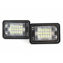 Комплект LED плафони за регистрационен номер за Mercedes GLK 2007-2013, ляв и десен