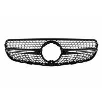Хром/черна диамантена решетка за Mercedes GLC X253, GLC Coupe C253 2015-2018