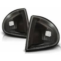 Комплект тунинг мигачи към фара за Honda CRX Del Sol 1992-1997 с черна основа ляв + десен