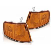 Комплект тунинг мигачи към фара за Honda CRX 1990-1992 оранжеви ляв + десен