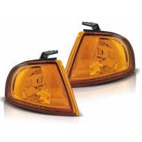 Комплект тунинг мигачи към фара за Honda Prelude 1990-1992 оранжеви ляв + десен