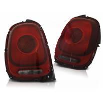 Комплект тунинг стопове за Mini Cooper F55/F56/F57 след 2014 година червено/опушени , ляв и десен