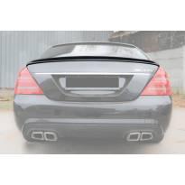 Спойлер за багажник тип AMG за Mercedes S класа W221 2005-2011