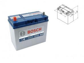 Акумулатор BOSCH Silver S4 12V 45Ah 330 A с тънки полюси - с ляв (+) АЗИЯ