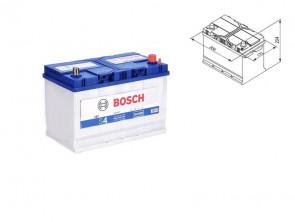 Акумулатор BOSCH Silver S4 12V 95Ah 830 A с ляв (+) АЗИЯ