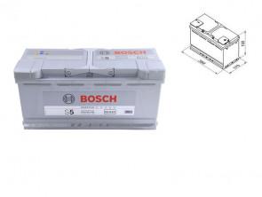 Акумулатор BOSCH Silver Plus S5 12V 110Ah 920 A с десен (+)