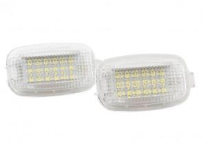 LED плафон за осветление под вратите за Mercedes W164,W169,W204,W212,W221,W245,W463,X164,C197,X204,C216,R230,W251,W639