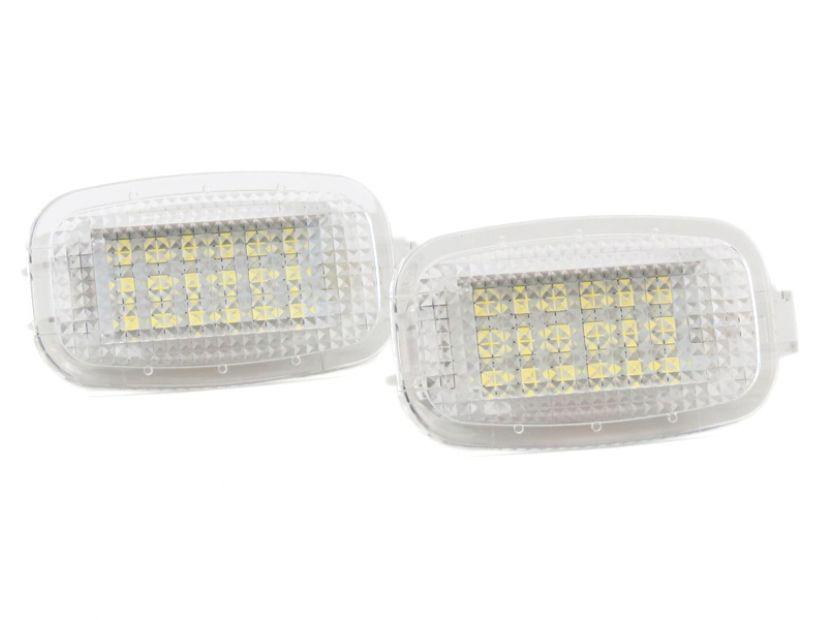 LED плафон за осветление под вратите за Mercedes W164,W169,W204,W212,W221,W245,W463,X164,C197,X204,C216,R230,W251,W639 - 1