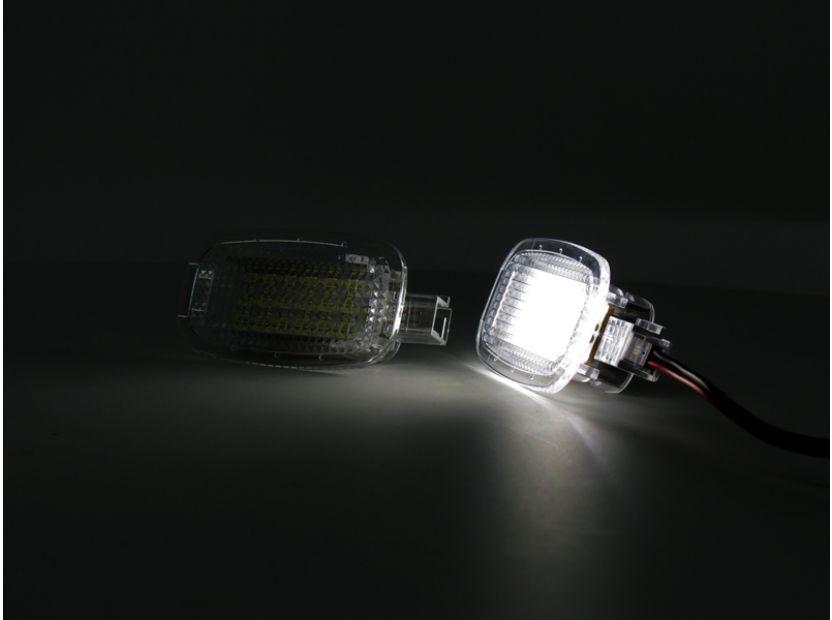 LED плафон за осветление под вратите за Mercedes W164,W169,W204,W212,W221,W245,W463,X164,C197,X204,C216,R230,W251,W639 - 5