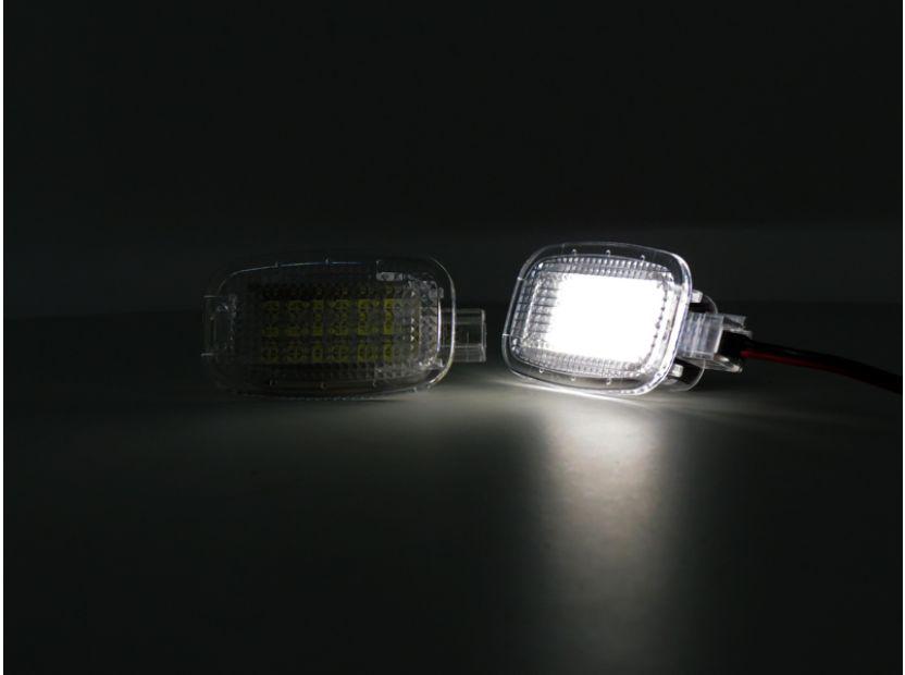 LED плафон за осветление под вратите за Mercedes W164,W169,W204,W212,W221,W245,W463,X164,C197,X204,C216,R230,W251,W639 - 4