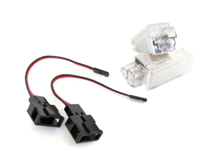 Комплект LED плафони за интериор Audi A3, A4, VW Golf V,VI,Passat,Caddy,EOS,Jetta,Scirocco - 4