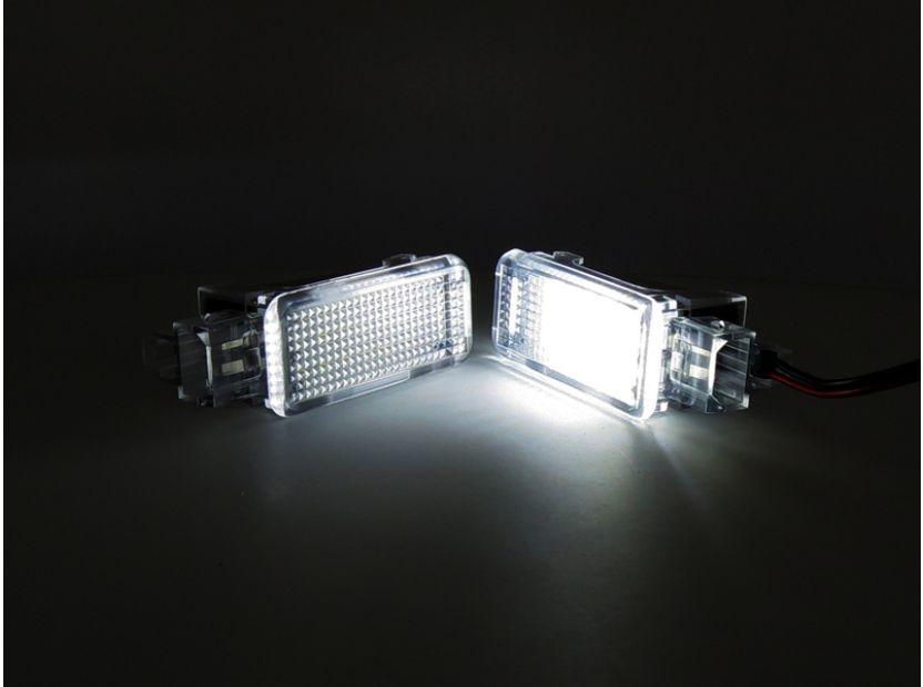 Комплект LED плафони за интериор Audi A3, A4, VW Golf V,VI,Passat,Caddy,EOS,Jetta,Scirocco - 5