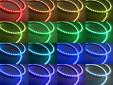 RGB Универсални ангелски очи autopro 130ММ с 54 SMD диода 13