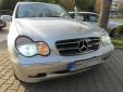 Хром/черна решетка за Mercedes C класа W203 2000-2007 5