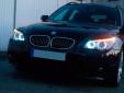 Бели LED лампи autopro за фабрични ангелски очи H8 20W CREE 7