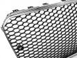 Хром/черна решетка тип RS за Audi A5 2011-2016 3
