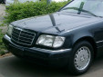Тунинг мигачи за Mercedes S класа W140 1991-1998 с хром основа 4