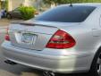Спойлер за багажник тип AMG за Mercedes E класа W211 2002-2009 7