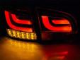 Комплект LED стопове за VW Golf 6 2008-2012, червено и бяла основа, ляв и десен 4