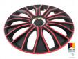 "Декоративни тасове PETEX 14"" Voltec pro black/red, 4 броя 2"