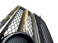 Хром/черна решетка тип AMG за Mercedes CLS класа W218 2012 => с отвори за парктроник 4