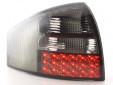 Тунинг LED стопове за Audi A6 1997-2004 изцяло опушени 3