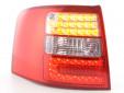 Тунинг LED стопове за Audi A6 комби 1997-2004 с бял мигач 7