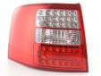 Тунинг LED стопове за Audi A6 комби 1997-2004 с бял мигач 10