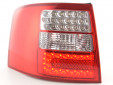 Тунинг LED стопове за Audi A6 комби 1997-2004 с бял мигач 6