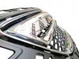 Хром/черна решетка без емблема за Opel Insignia 2008 => 10