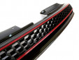 Черна решетка без емблема тип пчелна пита за VW Golf VI GTI 2008 => 5