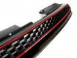 Черна решетка без емблема тип пчелна пита за VW Golf VI GTI 2008-2012 5