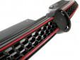 Черна решетка GTI тип пчелна пита за VW Golf VI GTI 2008-2012 3