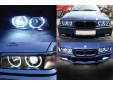 Бели LED ангелски очи autopro за BMW серия 3 E36 1990-1998 седан/комби/купе/компакт, серия 5 E39 1995-2000, серия 7 E38 1994-2001 3